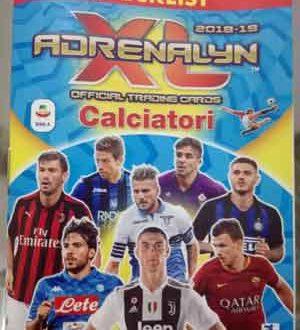 Collezione Card Adrenalyn 2018 / 2019