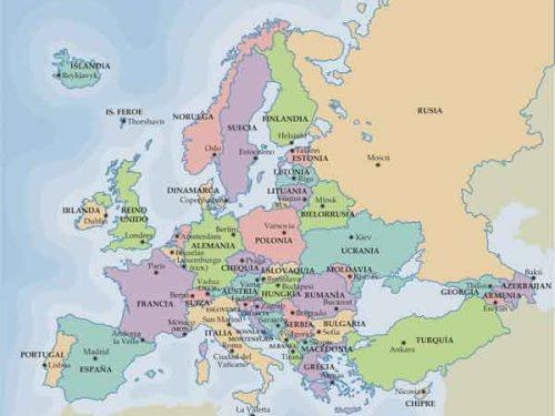 Oboe in Europa