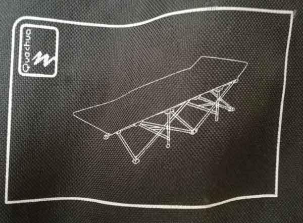 Vendita lettino per tenda