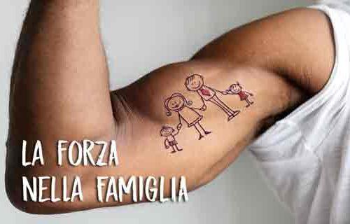 La forza nella famiglia